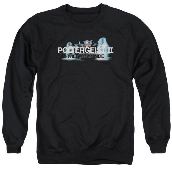 Poltergeist Ii Logo Adult Crewneck Sweatshirt