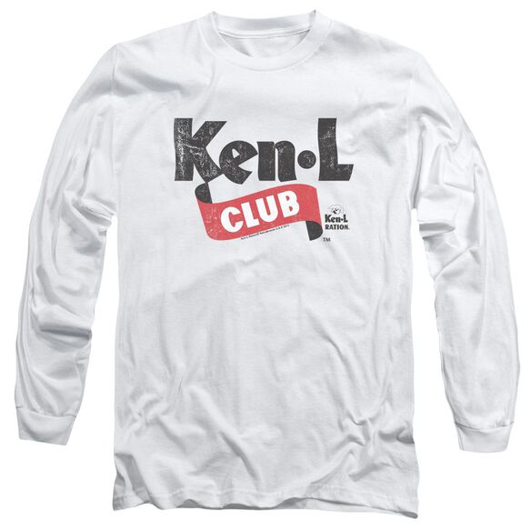Ken L Ration Ken L Club Long Sleeve Adult T-Shirt