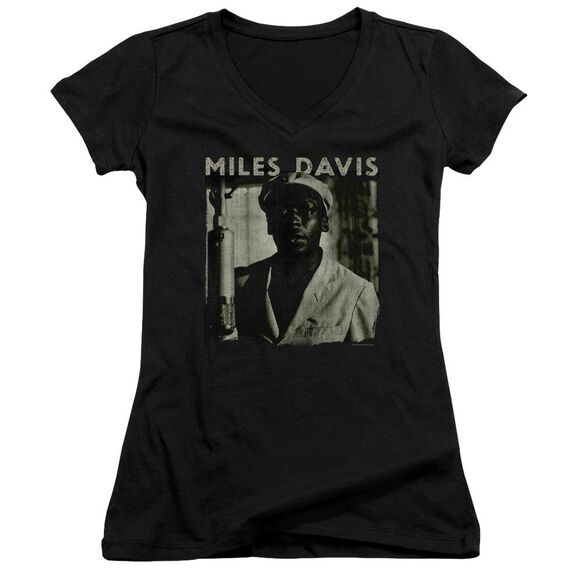 Miles Davis Miles Portrait Junior V Neck