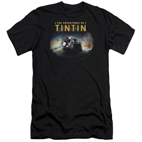 Tintin Journey Premuim Canvas Adult Slim Fit