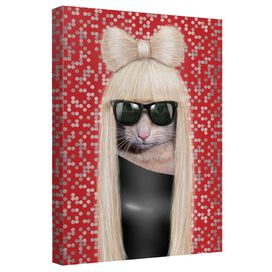 Pets Rock Gg Canvas Wall Art With Back Board