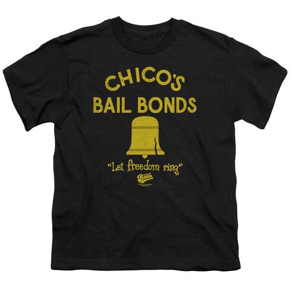 Bad News Bears Chico's Bail Bonds Short Sleeve Youth T-Shirt