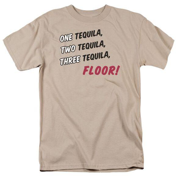 Tequila Floor Short Sleeve Adult Sand T-Shirt