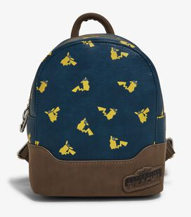 Loungefly Pokemon Detective Pikachu Micro Mini Backpack