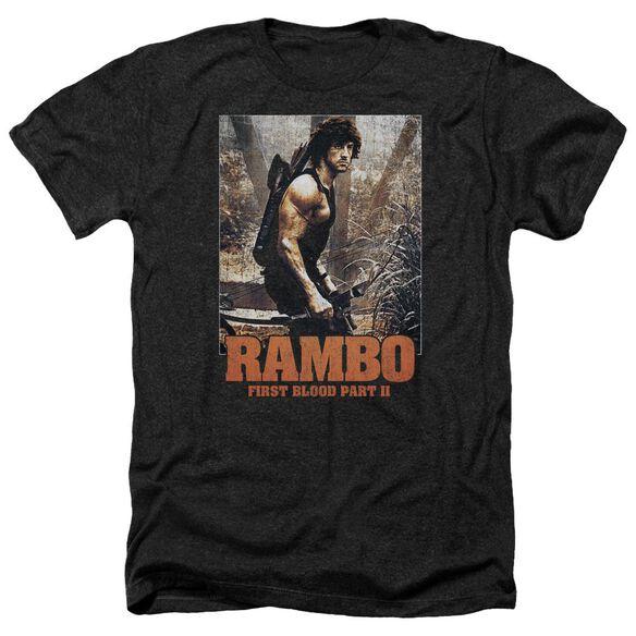 Rambo:First Blood Ii The Hunt Adult Heather
