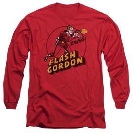 Flash Gordon Zang Long Sleeve Adult T-Shirt