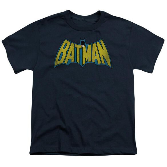 Dc Classic Batman Logo Short Sleeve Youth T-Shirt