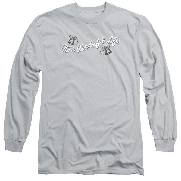 Its A Wonderful Life Logo Long Sleeve Adult T-Shirt