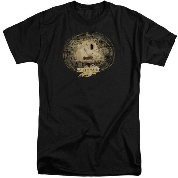 Mirrormask Sketch Short Sleeve Adult Tall T-Shirt