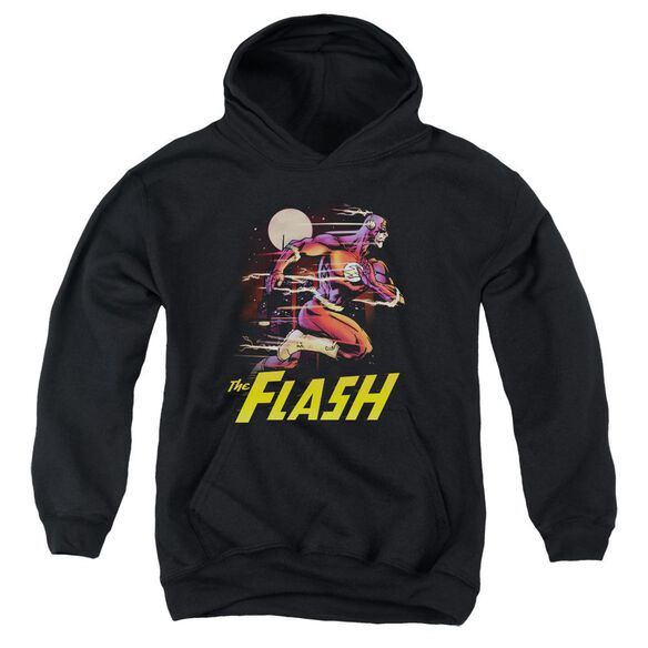 Jla City Run Youth Pull Over Hoodie