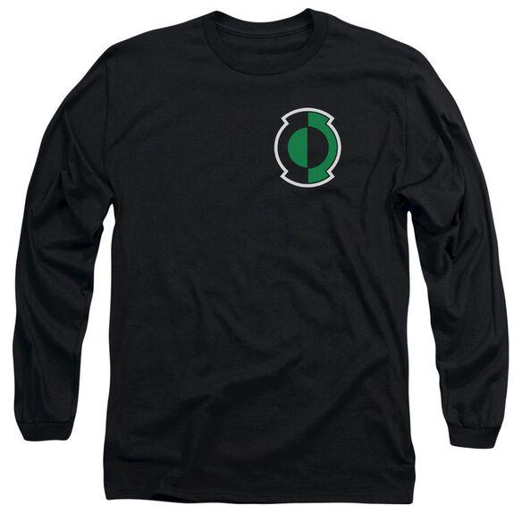 Green Lantern Kyle Logo Long Sleeve Adult T-Shirt