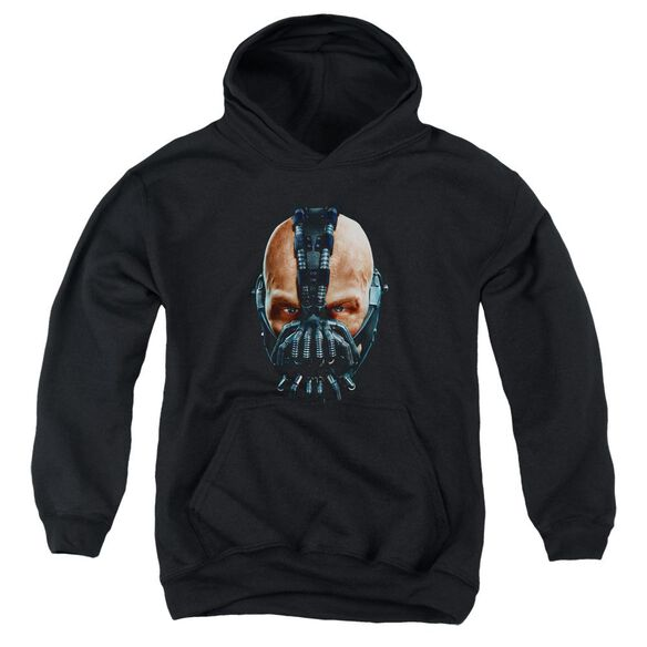 Dark Knight Rises Painted Bane Youth Pull Over Hoodie