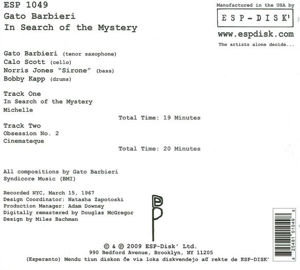 In Search Of The Mystery (Rmst) (Dig)