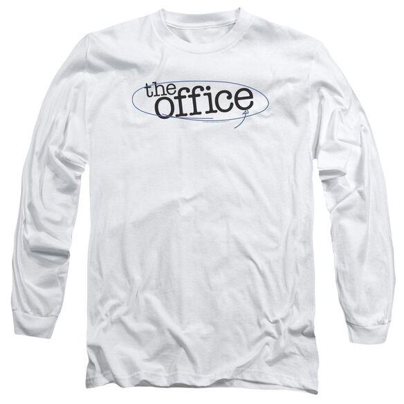 The Office Circled Logo Long Sleeve Adult T-Shirt
