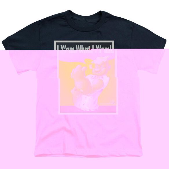 POPEYE I CAN DO IT - S/S YOUTH 18/1 - NAVY T-Shirt