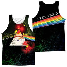 Pink Floyd Dark Side Of The Moon (Front Back Print) Adult Poly Tank Top