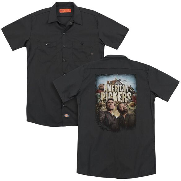 American Pickers Picker Poster (Back Print) Adult Work Shirt