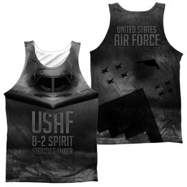Air Force Stealth (Front Back Print) Adult 100% Poly Tank Top