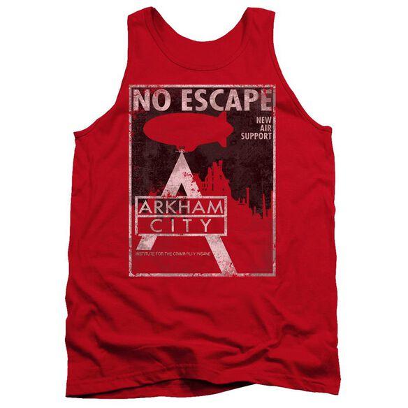 Arkham City No Escape - Adult Tank - Red