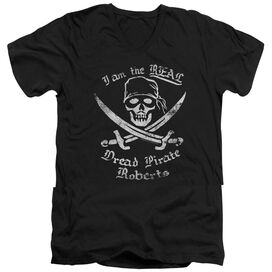 PRINCESS BRIDE THE REAL DPR - S/S ADULT V-NECK - BLACK T-Shirt