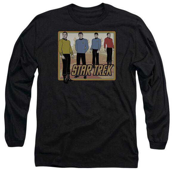 Star Trek Classic Long Sleeve Adult T-Shirt