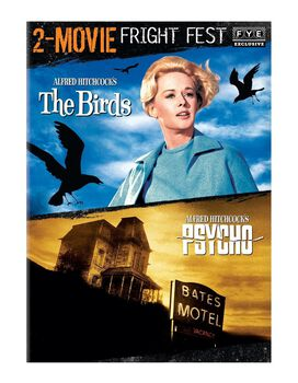 Fright Fest Hitchcock 2-Movie Collection [The Birds, Psycho]