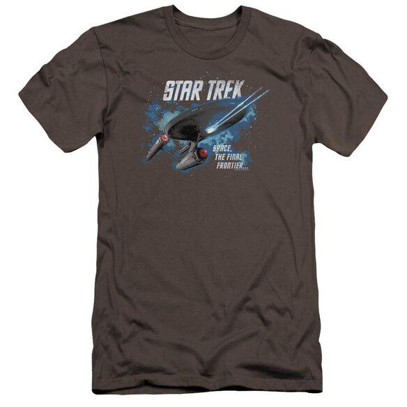 Star Trek The Final Frontier Premuim Canvas Adult Slim Fit