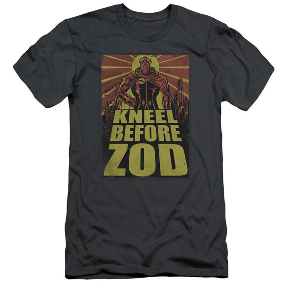 SUPERMAN ZOD POSTER - S/S ADULT 30/1 - CHARCOAL T-Shirt