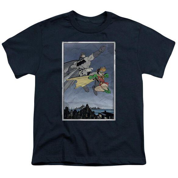 Batman Dkr Duo Short Sleeve Youth T-Shirt