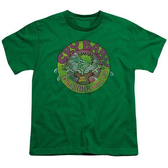 Dubble Bubble Logo Short Sleeve Youth Kelly T-Shirt