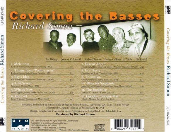 Covering The Basses 0798