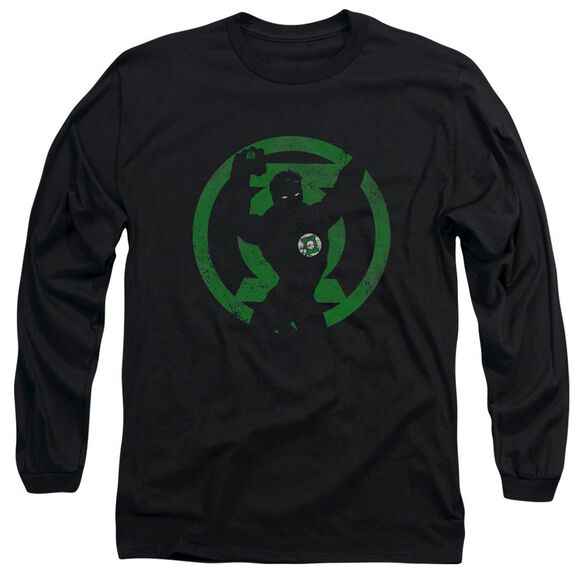 Dc Gl Symbol Knockout Long Sleeve Adult T-Shirt