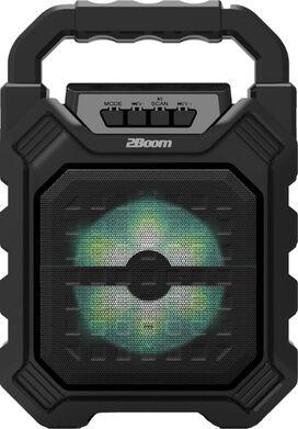 2Boom Vibe Portable Wireless Bluetooth Speaker [Black]