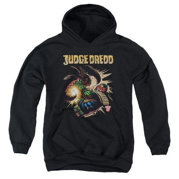 Judge Dredd Blast Away Youth Pull Over Hoodie