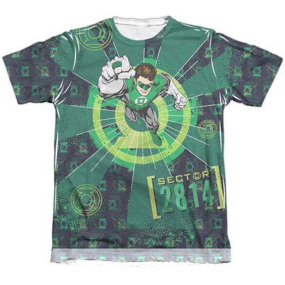Green Lantern Sector 2814 Adult Poly Cotton Short Sleeve Tee T-Shirt