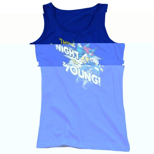Dc The Night Is Young - Juniors Tank Top - Royal Blue