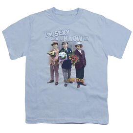 Three Stooges Sexy Short Sleeve Youth Light T-Shirt