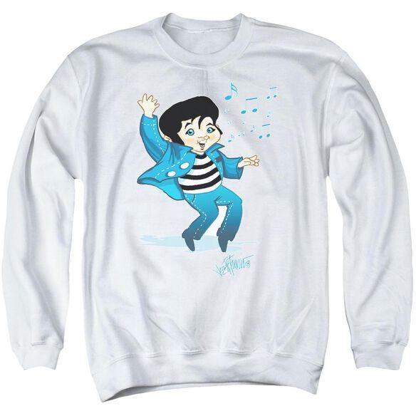 Elvis Lil Jailbird Adult Crewneck Sweatshirt