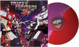 Robert J. Walsh and Johnny Douglas - Transformers: Music from the '80s TV Series [Exclusive Autobot & Decepticon Split Colored Vinyl]