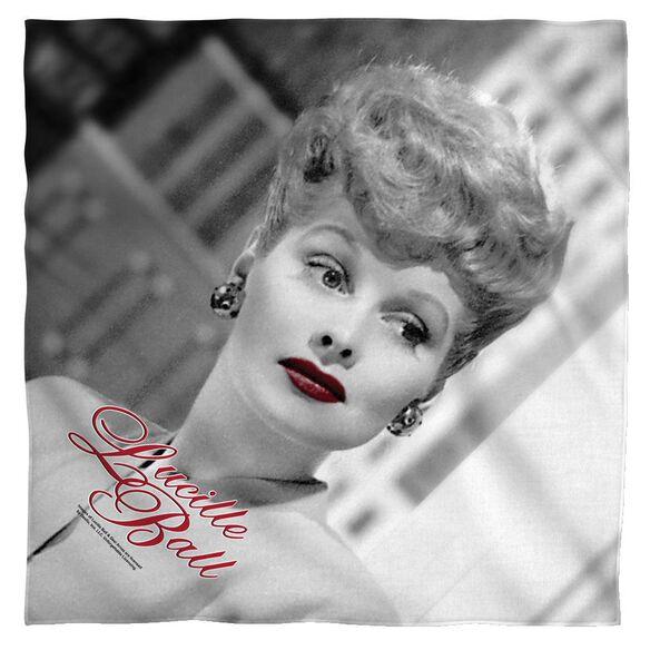 Lucille Ball City Girl Bandana White