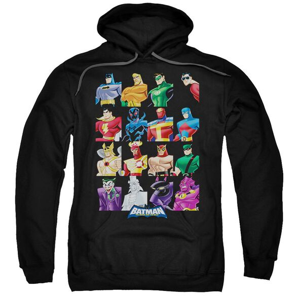 Batman Bb Cast Of Characters Adult Pull Over Hoodie