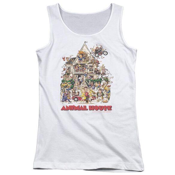 Animal House Poster Art Juniors Tank Top