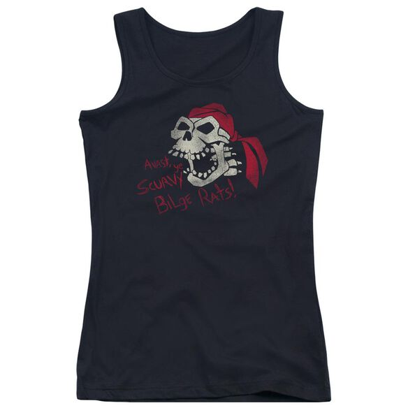 Scurvy Bilge Rats Juniors Tank Top