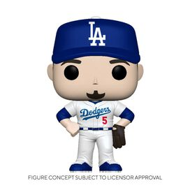 Funko Pop! MLB: Dodgers- Corey Seager (Home Uniform)