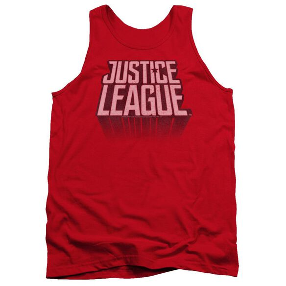 Justice League Movie League Distressed Adult Tank