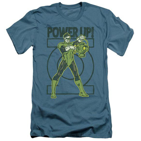 Green Lantern Power Up Short Sleeve Adult T-Shirt