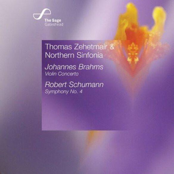 Thomas Zehetmair - Violin Concerto / Symphony 4