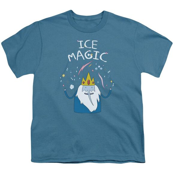 Adventure Time Ice Magic Short Sleeve Youth T-Shirt