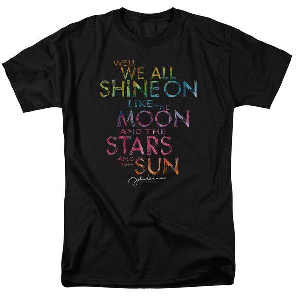 John Lennon All Shine On Short Sleeve Adult T-Shirt