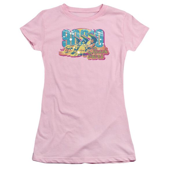 90210 Beach Babes Short Sleeve Junior Sheer T-Shirt